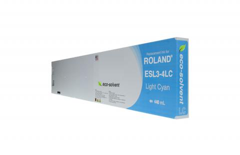 WF Non-OEM New Light Cyan Wide Format Inkjet Cartridge for Roland ESL3-4LC