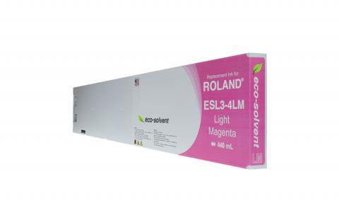 WF Non-OEM New Light Magenta Wide Format Inkjet Cartridge for Roland ESL3-4LM