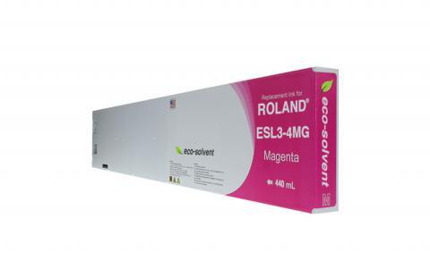 WF Non-OEM New Magenta Wide Format Inkjet Cartridge for Roland ESL3-4MG