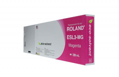 WF Non-OEM New Magenta Wide Format Inkjet Cartridge for Roland ESL3-MG