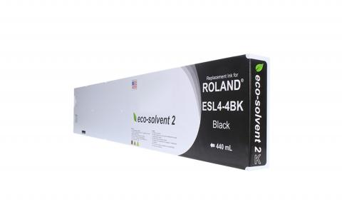 WF Non-OEM New Black Wide Format Inkjet Cartridge for Roland ESL4-4BK