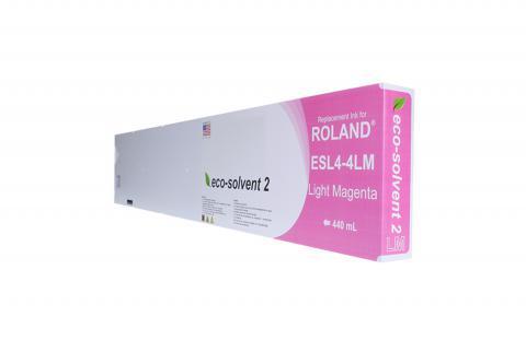 WF Non-OEM New Light Magenta Wide Format Inkjet Cartridge for Roland ESL4-4LM
