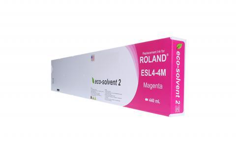 WF Non-OEM New Magenta Wide Format Inkjet Cartridge for Roland ESL4-4M