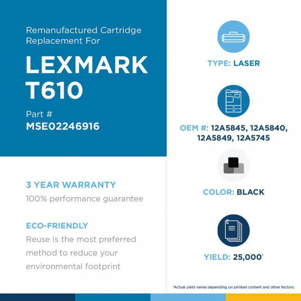 LEXMARK - 12A5745, 12A5840, 12A5845, 12A5849, 24B1429