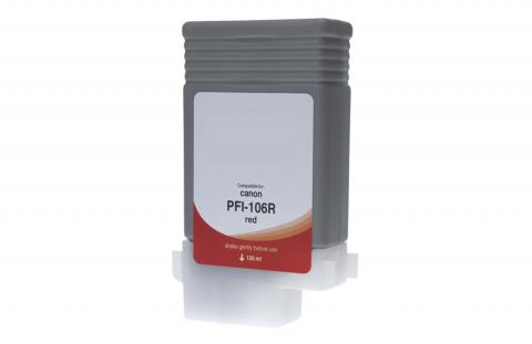 WF Non-OEM New Red Wide Format Ink Cartridge for 6627B001AA (PFI-106R)