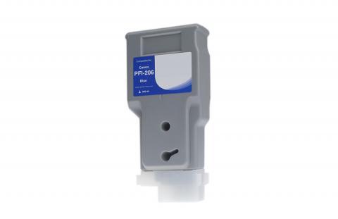 WF Non-OEM New Blue Wide Format Ink Cartridge for 5311B001AA (PFI-206B)