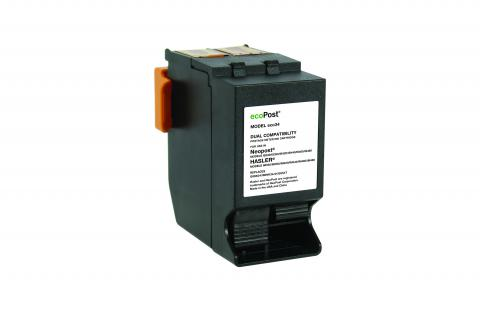 ecoPost Non-OEM New Postage Meter Red Ink Cartridge for NeoPost, Hasler ISINK34/ISINK34/4135554T/ININK67