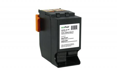 ecoPost Non-OEM New NeoPost, Hasler IJINK678H/4102910P/WJINK-1/4124703Q Postage Meter Red Ink Cartridge