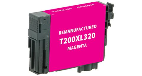 Epson Remanufactured High Yield Magenta Ink Cartridge for Epson T200XL320