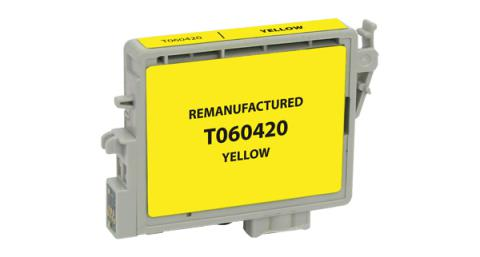 EPC Remanufactured Yellow Ink Cartridge for Epson T060420