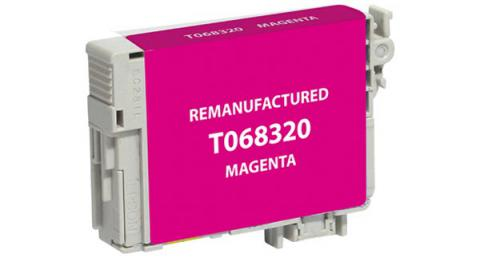 EPC Remanufactured High Yield Magenta Ink Cartridge for Epson T068320
