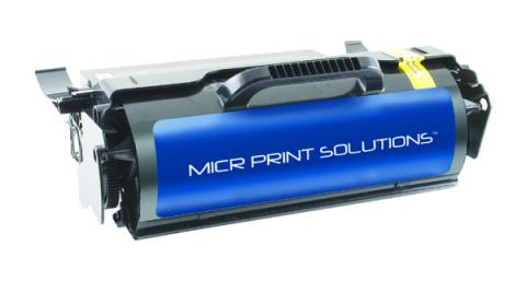 MICR Print Solutions New Replacement High Yield MICR Toner Cartridge for Lexmark T650N/T652N/T654N