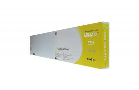 WF Non-OEM New Yellow Wide Format Inkjet Cartridge for Mimaki ES3 (SPC-0440Y)