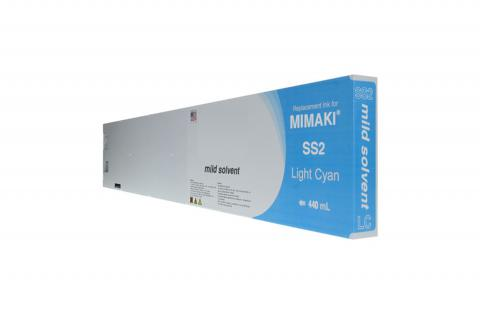 WF Non-OEM New Light Cyan Wide Format Inkjet Cartridge for Mimaki JV3 (SPC-411LC)