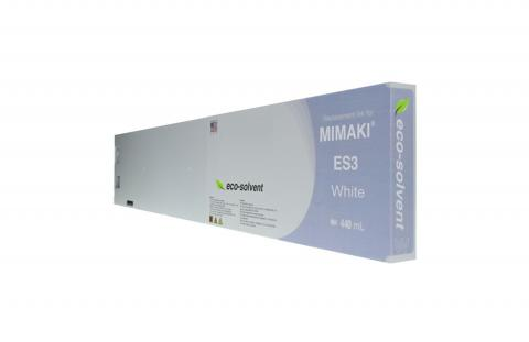 WF Non-OEM New White Wide Format Inkjet Cartridge for Mimaki ES3 (SPC-0440W)