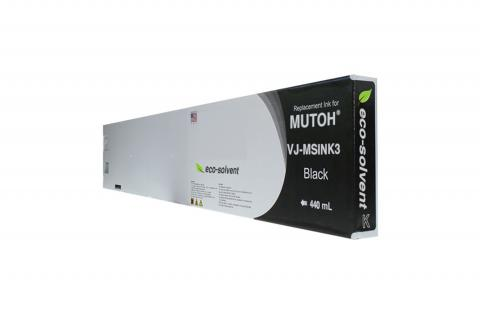WF Non-OEM New Black Wide Format Inkjet Cartridge for Mutoh VJ-MSINK3-BK440