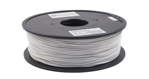 3D Filaments Non-OEM New PLA Filament, White - 1kg/roll