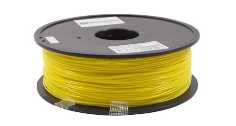3D Filaments Non-OEM New PLA Filament, Yellow - 1kg/roll