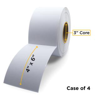 Clover Imaging Non-OEM New Direct Thermal Label Roll 3.0