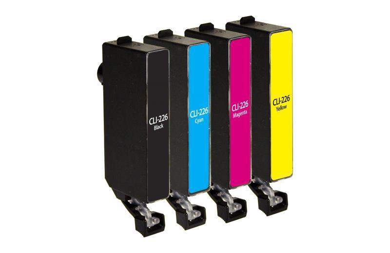 Canon - CLI-226, CLI-226BK, CLI-226C, CLI-226M, CLI-226Y