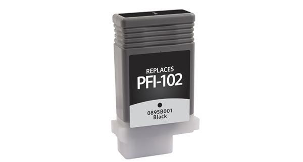 Canon - 0895B001, PFI-102BK, 0894B013