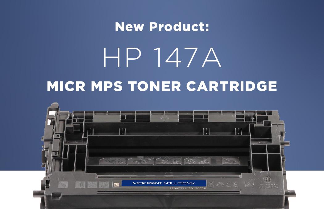 MICR Toner Cartridges for HP W1470A