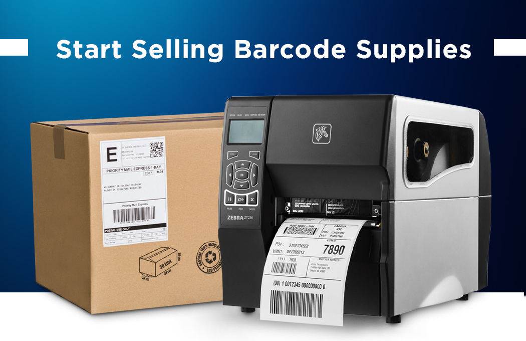 Start Selling Barcode Supplies