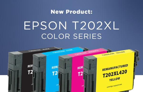 Available Now! Epson T202XL