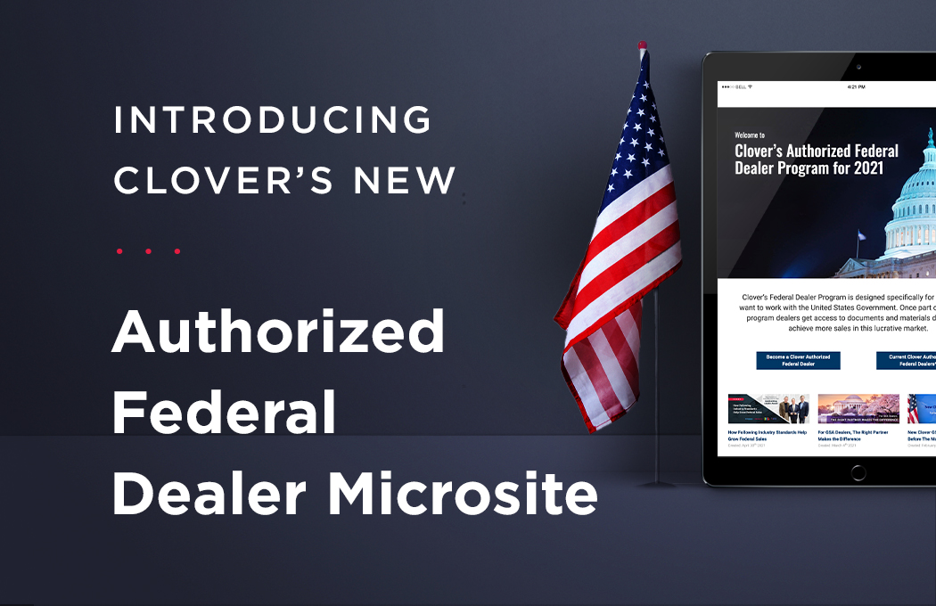 Clover's New Authorized Federal Dealer Microsite