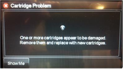Cartridge Problem